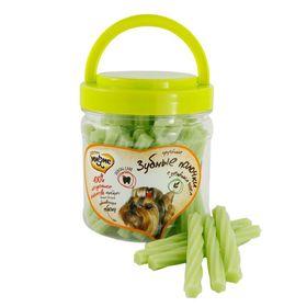 Лакомство Мнямс для собак, крученые зубные палочки с зелёным чаем, 340 г