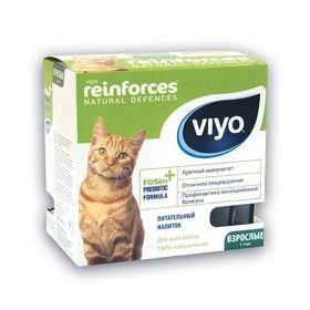 Пребиотический напиток VIYO Reinforces Cat Adult,  для взрослых кошек, 7х30 мл