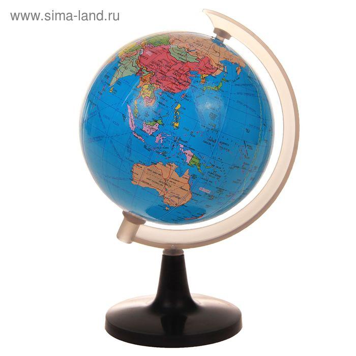 Глобус сувенирный на подставке, политическая карта, англ., язык