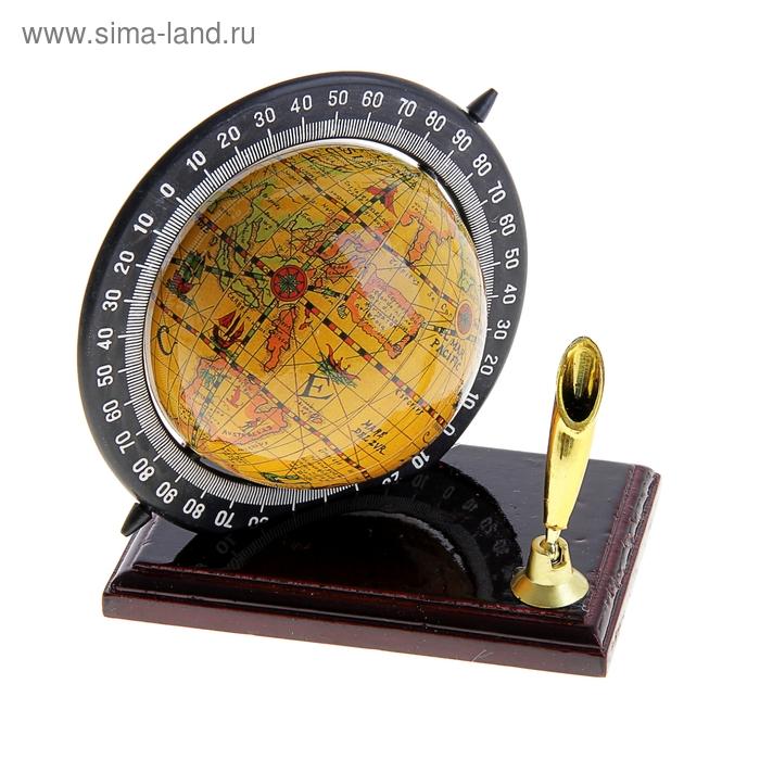 Глобус сувенирный с подставкой для ручки