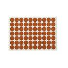 Заглушка WG самоклеящаяся, d=18 мм, цвет итальянский орех, 70 шт.