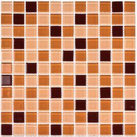 Мозаика стеклянная Bonaparte, Coffee Mix 300х300х4 мм