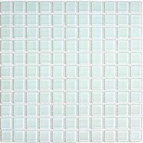 Мозаика стеклянная Bonaparte, White glass 300х300х4 мм