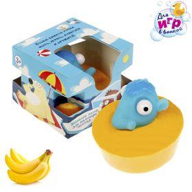 """Мыло детское с игрушкой """"Мамонт"""", банан"""