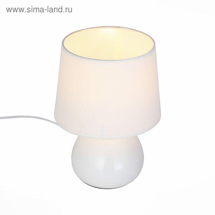 Настольная лампа St Luce Белый+Белый SLE300.504.01 E27 1*60W
