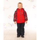 """Комплект для мальчика """"ГАСПАР"""", рост 110 см (56), цвет красный КТ12017-13"""