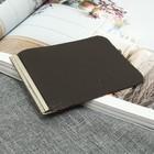 Зажим для купюр, с металлическим держателем, цвет коричневый матовый