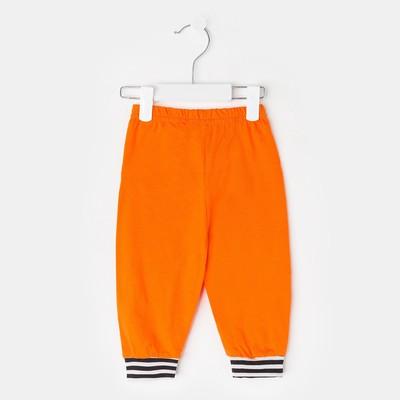 Брюки для девочки, рост 86 см, цвет оранжевый  233130-3_М