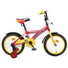"""Велосипед 16"""" Graffiti Storman RUS, цвет красный"""