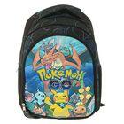 Рюкзак школьный «Покемоны» 39*28*13 уплотненная спинка, 2 боковых и 1 внешний карманы 87820