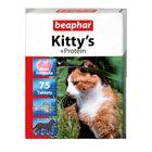 """Витамины Beaphar """"Kitty's"""" протеин  75шт, для кошек"""