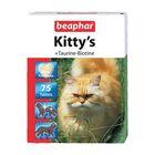 "Витамины Beaphar ""Kitty's"" таурин+биотин  75шт, для кошек"