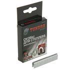 Скобы для степлера TUNDRA basic закалённые, полукруглые, тип 28,  12 мм (1000 шт.)