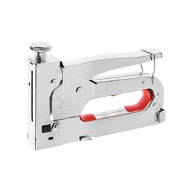 Степлер строительный TUNDRA comfort, метал. корп.,  скобы 11,3 мм, для скоб 4-14 мм 155026