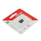 Флеш карта microSDHC Smartbuy  4GB class 4