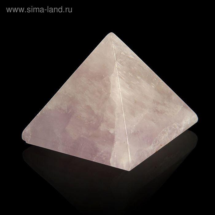 Пирамида из камня. Аметист от 38х33мм/80г: коробка