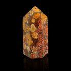 Призма из камня. Звёздный камень от 12х33мм/16г:коробка