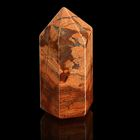 Призма из камня. Яшма Зебра от 12х33мм/16г:коробка