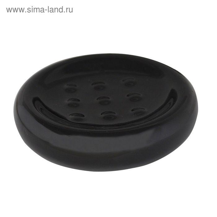 Мыльница Bowl, цвет черный