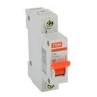 Выключатель автоматический TDM ВА47-63, 1п, 50 А, 4.5 кА, SQ0218-0008