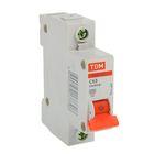 Выключатель автоматический TDM ВА47-63, 1п, 63 А, 4.5 кА, SQ0218-0009