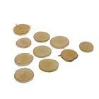 Набор из 10 спилов берёзы, диаметр 3 — 5 см., толщина 5 мм.
