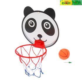 Баскетбольный набор 'Забавные животные', с мячом Ош