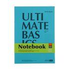 Блокнот офисный А4, 64 листа на скрепке Ultimate basics Сambridge, обложка картон, блок мелованная бумага 70г/м2, МИКС