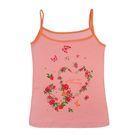 Майка женская LM 02-015П цвет розовый, р-р 44