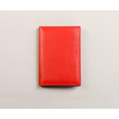 Обложка для автодокументов, отдел для кредитных карт, цвет красный