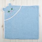 Уголок детский Киска, размер 90*90, цв. голубой, хл100%