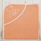 Уголок детский для девочки, размер 90*90, цв. персик, хл100%