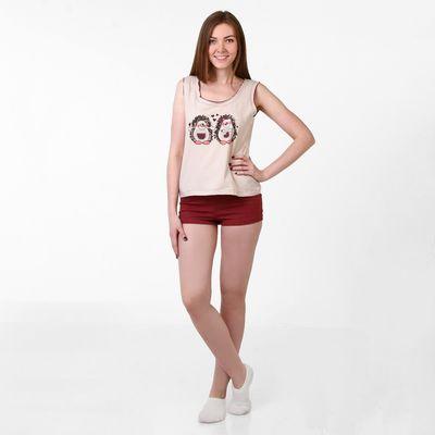 Пижама женская  Меланжики 227531  меланж, р-р 52