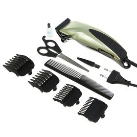 Машинка для стрижки волос KELLI KL-7003,  45 Вт, 4 съемных гребня микс Ош
