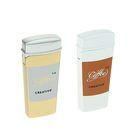 Зажигалка газ, кремний стакан Кофе, микс 2,5*5,5см