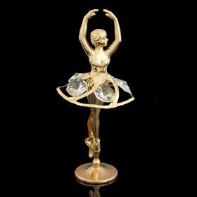 Сувенир «Балерина», 5×5,5×11 см, с кристаллами Сваровски Ош