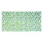 Панель ПВХ Мозаика прованс зеленый 955*480