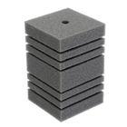Губка прямоугольная запасная для фильтра турбо №13, 17,5х11х11 см