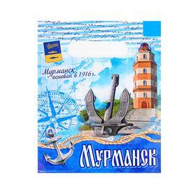 """Пакет подарочный """"Мурманск. Морской"""""""