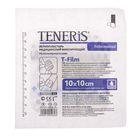 Лейкопластырь TENERIS T-Film 10х10см фиксир. на полимерной основе с впитывающей подушкой из вискозы