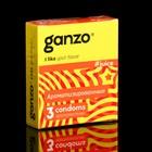 Презервативы «Ganzo» Juice, ароматизированные, 3 шт