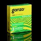 Презервативы «Ganzo» Ultra thin, ультра тонкие, 3 шт