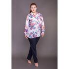 Блуза женская 17-c284, размер 66, цвет разноцветный