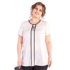Блуза женская 17-i250, размер 54, цвет белый