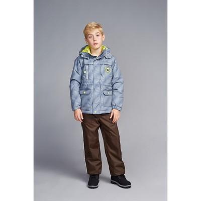 Куртка для мальчика, рост 104 см, цвет серый S17451