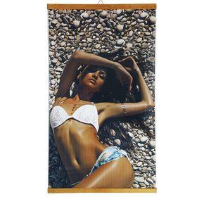 Обогреватель 'Домашний очаг' Пляж, инфракрасный, 500 Вт, 1050 х 600 х 5 мм Ош