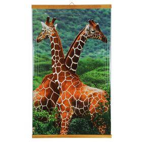 Обогреватель 'Домашний очаг' Жирафы, инфракрасный, 500 Вт, 1050 х 600 х 0.5 мм Ош