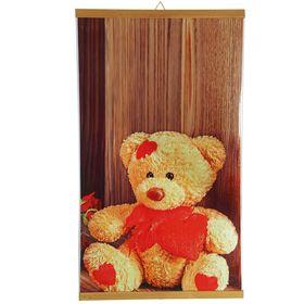 Обогреватель 'Домашний очаг' Медвежонок, инфракрасный, 500 Вт, 1050 х 600 х 0.5 мм Ош