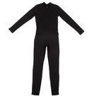 Комбинезон гимнастический для девочки, рост 122 см, цвет чёрный ГК 5.03