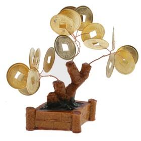 """Сувенирное дерево """"Монеты маленькие"""""""